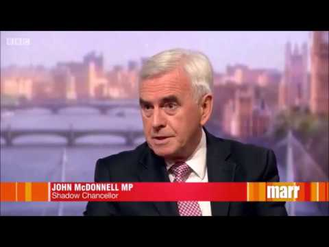 John McDonnell #marr interview 16th July 2017