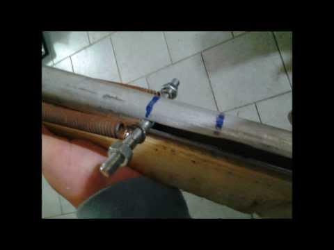 Homemade spring gun