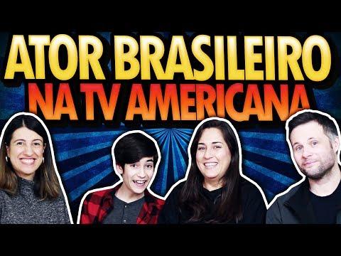 ATOR BRASILEIRO EM DESTAQUE NA TV NORTE AMERICANA