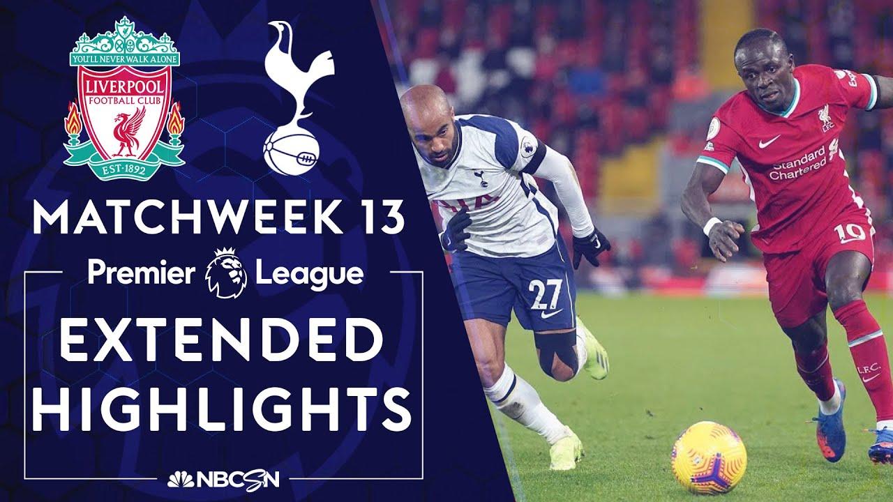 Download Liverpool v. Tottenham Hotspur   PREMIER LEAGUE HIGHLIGHTS   12/16/2020   NBC Sports