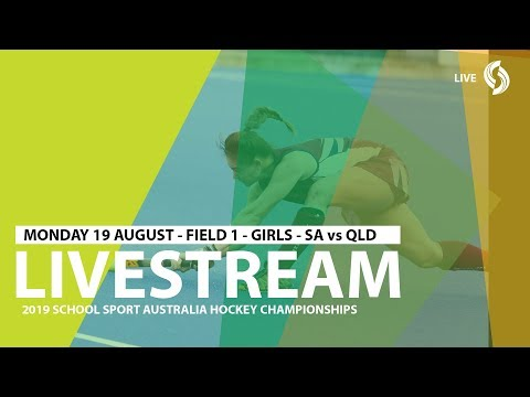 🔴 2019 SSA 12 Years And Under Hockey - Girls - SA Vs QLD - Field 1 - Game 4
