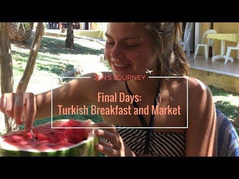 Final days in Turkey