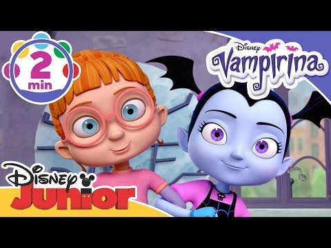 Vampirina | No Way Song with Vee and Poppy! | Disney Junior UK