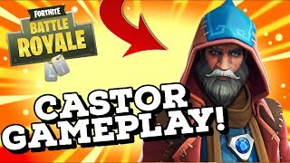 NEW CASTOR SKIN Gameplay In Fortnite..