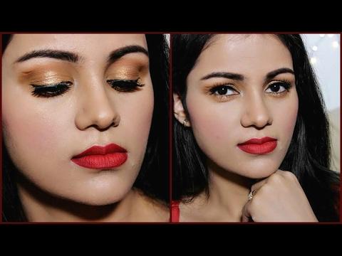 पार्टी मेकअप कैसे करें Step By Step SMOKEY Eye Makeup Tutorial in HINDI