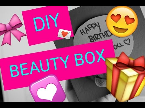 Diy Beauty Boxgeschenk Box
