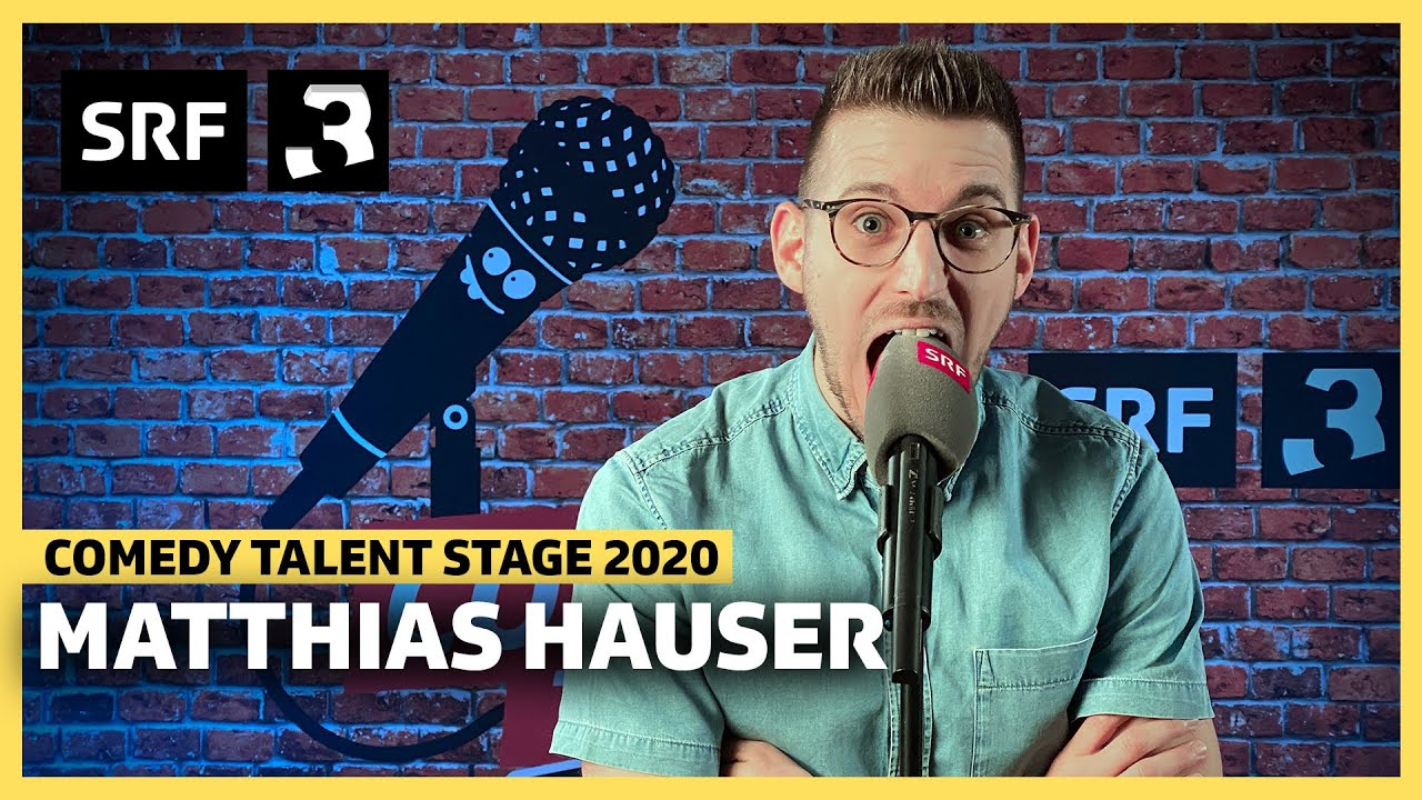 Matthias Hauser: Komm zu Daddy – ja-tu-tu-tu!👶 | Comedy Talent Stage | Radio SRF 3