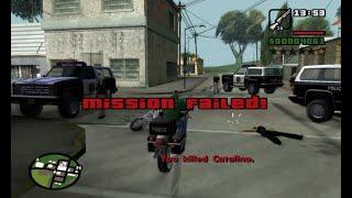 GTA San Andreas PS2 14   Fim da Missцёo PS4 PRO
