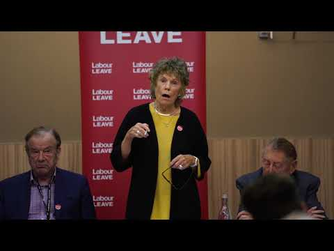 Kate Hoey speech at Labour Leave fringe event, 2018