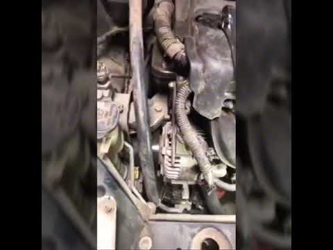 SIMPLE  drive belt Replacement Toyota Yaris    Scion    XA