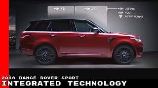 2018 Range Rover Sport Integrated Technology