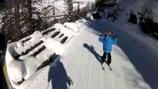 Reportaje de la Estación de Esquí de Leukerbad (Valais, Suiza)