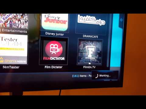 Using Amazon fire TV stick and Kodi here's a demo
