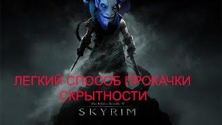 Как быстро прокачать скрытность в Skyrim