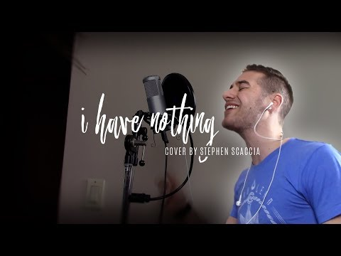 I Have Nothing - Whitney Houston (Cover by Stephen Scaccia)