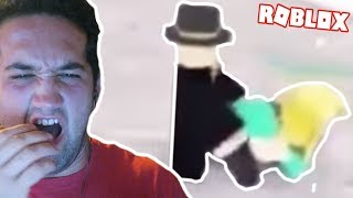 REACTING TO THE WEIRDEST ROBLOX COMPILATIONS