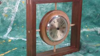 Make A Wood Clock With The Non-yankee Woodworker
