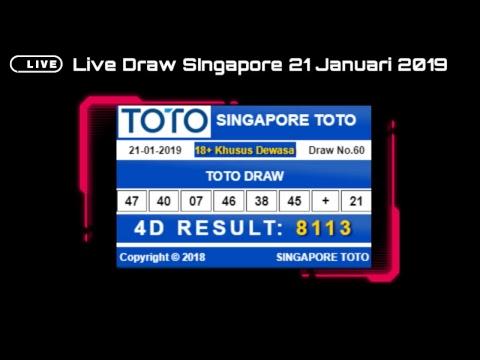 Live Draw Result Pasaran Togel Singapura TOTO SGP 4D t