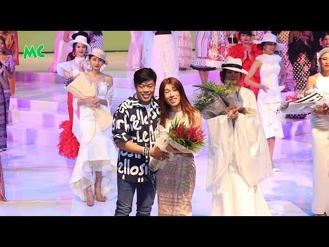 """ဂၽြန္လြင္ စီစဥ္ တဲ့ """"Myanmar Int'l Fashion Week 2018"""" ဖက္ရွင္ျပပြဲ"""