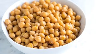 Three Simple Methods for How to Cook Dried Chickpeas