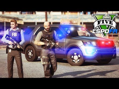 GTA 5 - LSPDFR Ep191 - Unmarked Explorer FBI Partner Patrol!!