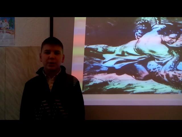 Изображение предпросмотра прочтения – ИванМихайлов читает отрывок изпроизведения «Мцыри» М.Ю.Лермонтова