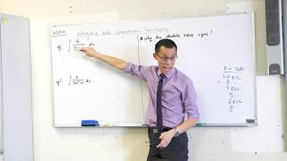 Integrals & Logarithmic Functions (2 of 2: Why are there absolute value signs?)