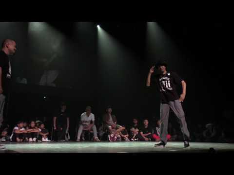 Ricky vs MACCHO @ NDF POPPING 1on1 BATTLE FINAL 2017. 6.18