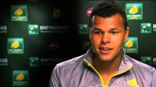 Indian Wells 2013 Wednesday Interview Tsonga