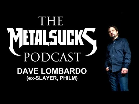 Dave Lombardo (PHILM, ex-SLAYER) on The MetalSucks Podcast #68