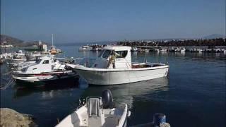 Kalyves harbour western Crete.