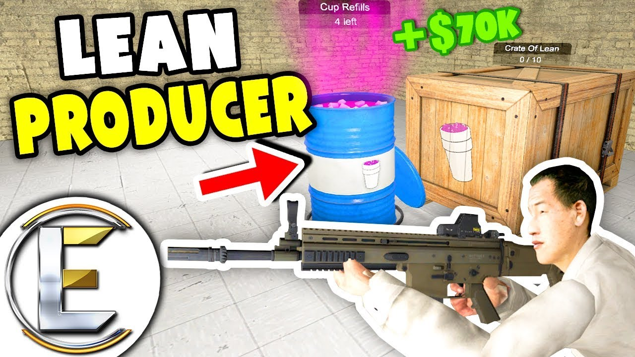 NEW Lean Producer - Gmod DarkRP Life (A Refreshing Drink LIL PUMP Enjoys) New Way To Make Money!