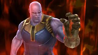 Marvel Future Fight T3 Iron Man WBU Thanos stage 9 100s clear