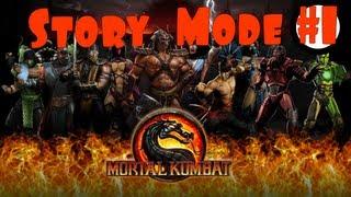 Mortal Kombat. Komplete Edition - Story mode. #1 (рус. озвучка).