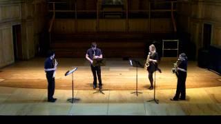 Sax Quartet (Cowboy Bebop) - The University of St Andrews Saxophone Quartet