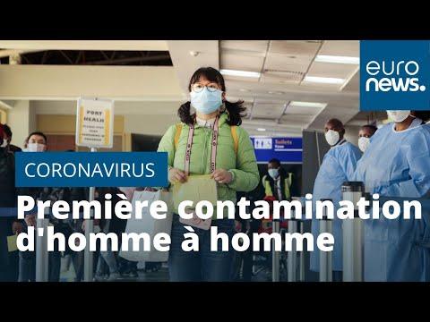 Coronavirus: premiers cas de contamination d'homme à homme en Allemagne, 4e cas avéré en France