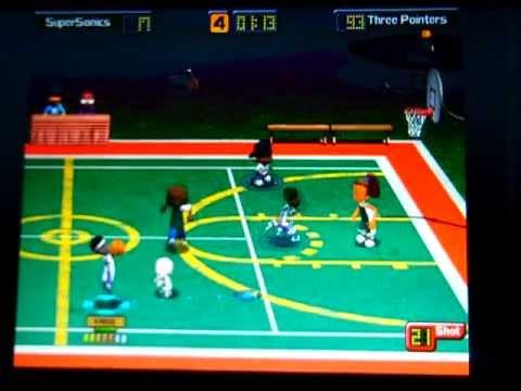 Backyard Basketball 2004: Three Pointers Vs SuperSonics Part 2