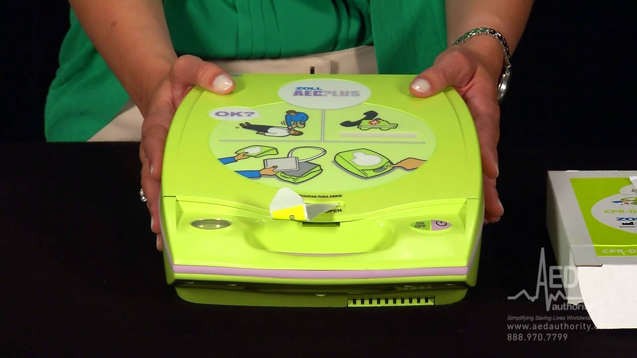 Zoll AED Plus Routine Maintenance - AED Authority