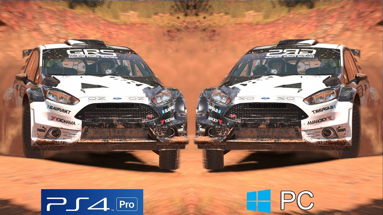 dirt 4 graphics comparison ps4 pro vs pc maxed out settings 60fps youtube. Black Bedroom Furniture Sets. Home Design Ideas