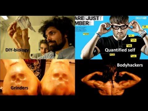 THE CONNECTED BODY I Upgrading the Human Body I Hannes Sjoblad I Login 2016 Vilnius