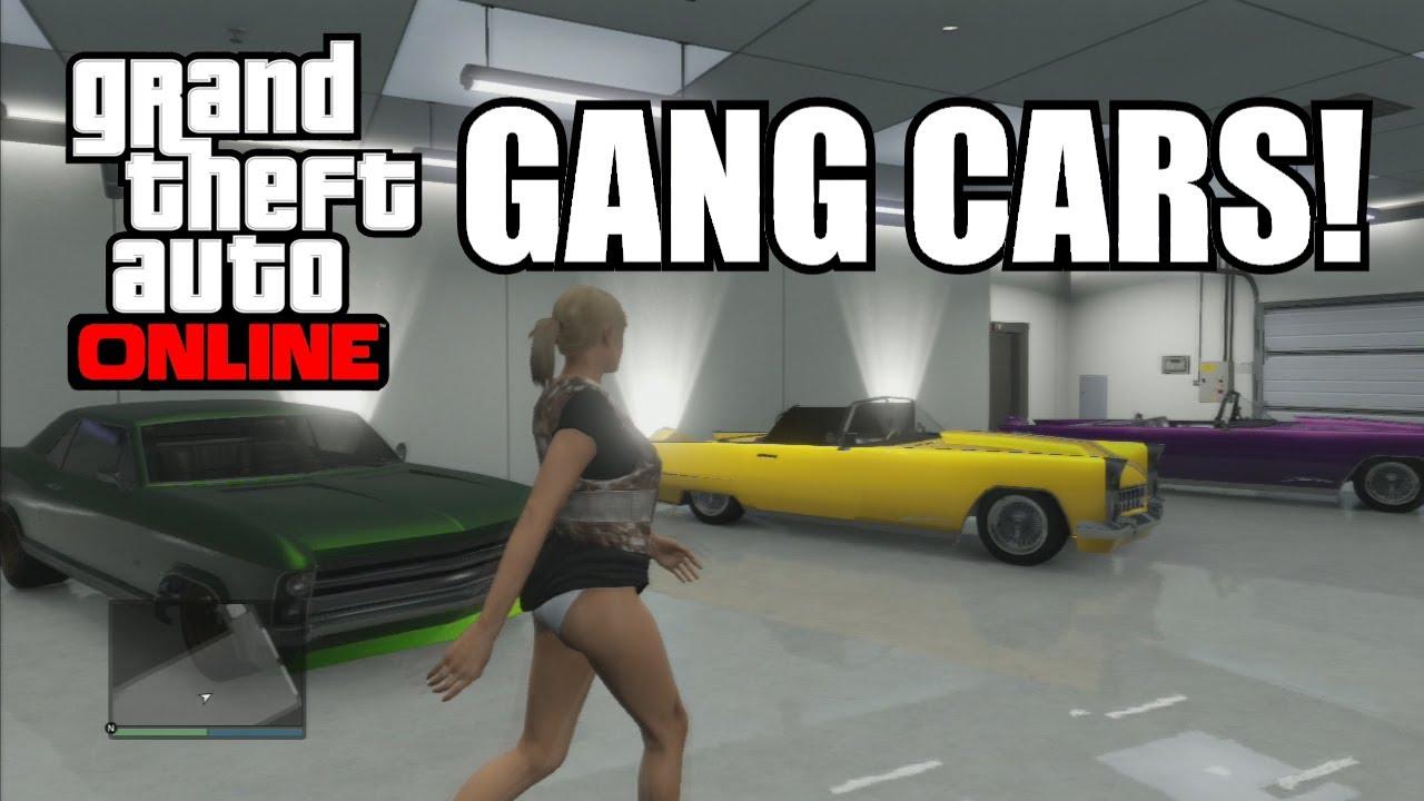 gta 5 online rare gang cars