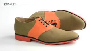 J.D. Fisk Galvin Saddle Shoes - Canvas (For Men)