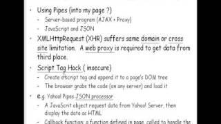2009.03.26 Emerging Web Tech@FJU CSIE - 10 : Mashup, Yahoo! Pipes