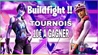 TOURNOIS BUILDFIGHT GAGNE 10EURO DE V-BUCK SUR FORTNITE