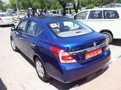 [ Car in India ] Renault Scala Blue 2012 India