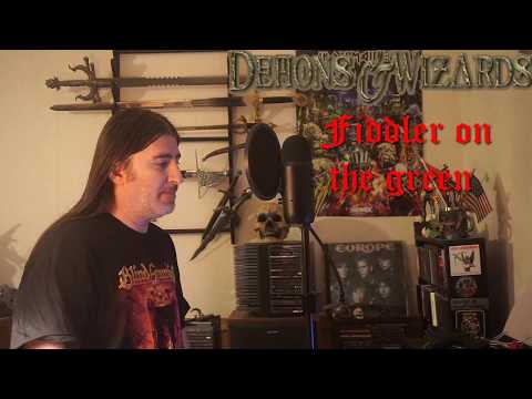 """Demons & Wizards """" Fiddler on the Green """" ( vocal cover )"""
