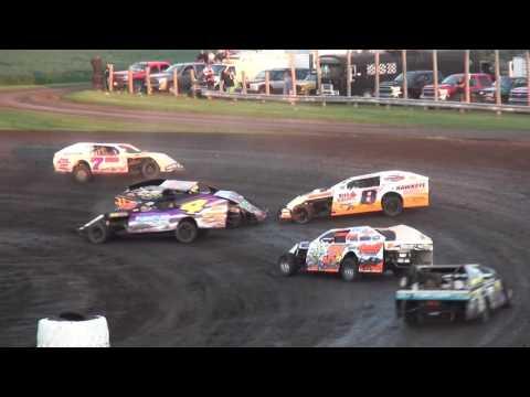 IMCA Modified feature Benton County Speedway 7/31/16