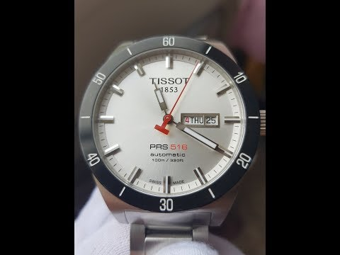 First Level Entry Swiss Wrist Watches - Tissot PRS 516 Automatic