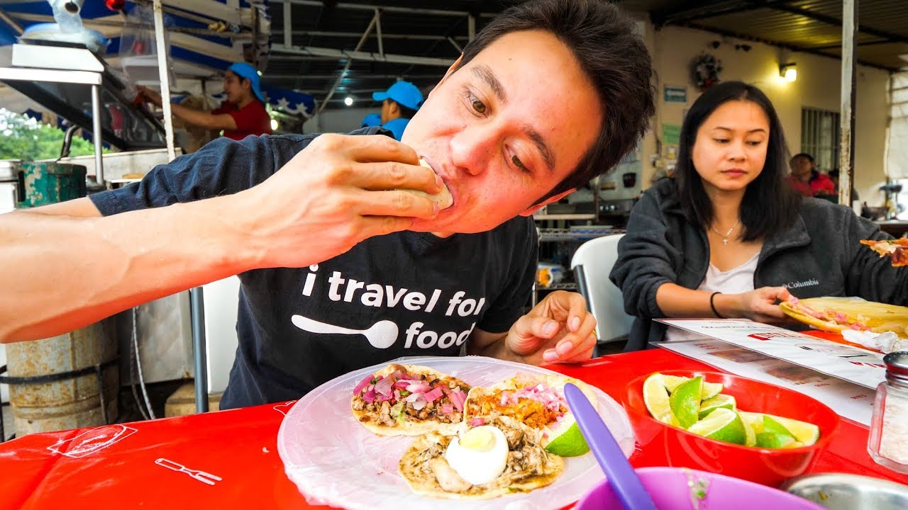 Mexican Food in Tulum! - PARADISE CEVICHE and Tacos!   Riviera Maya, Mexico