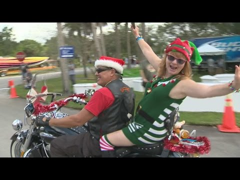 Bikers Ride For 'Toys In The Sun Run'